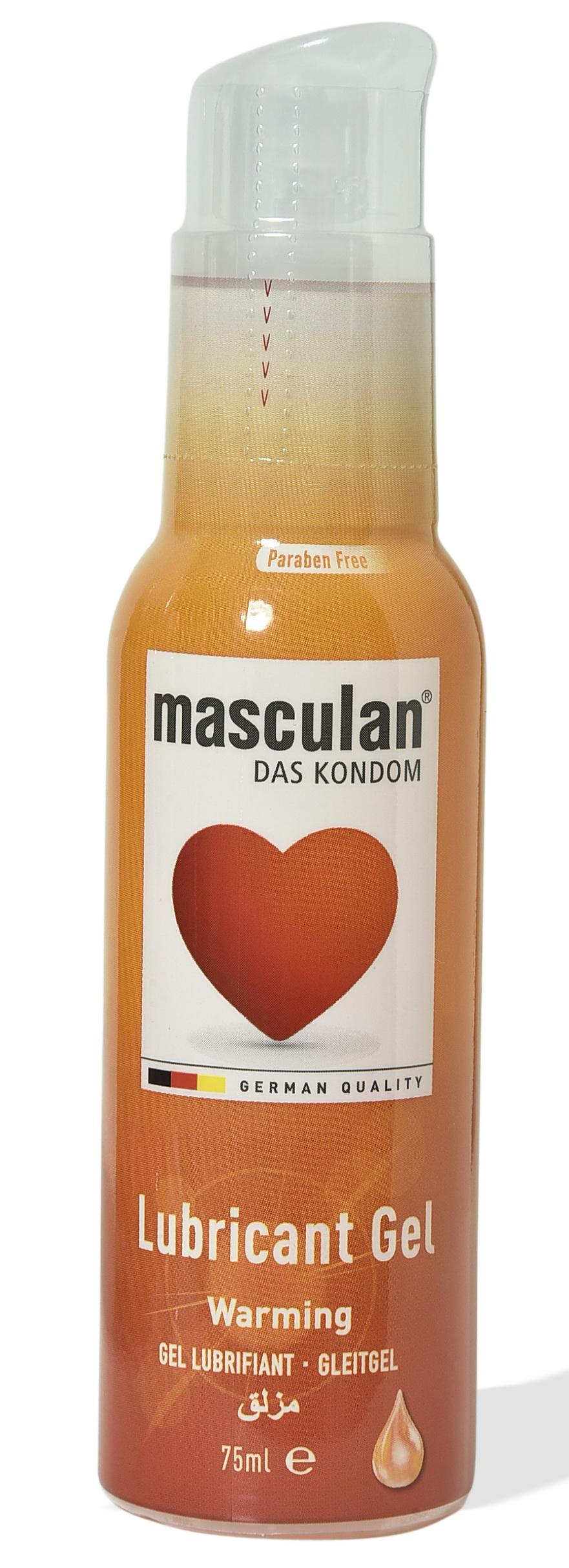 Masculan warming 75ml