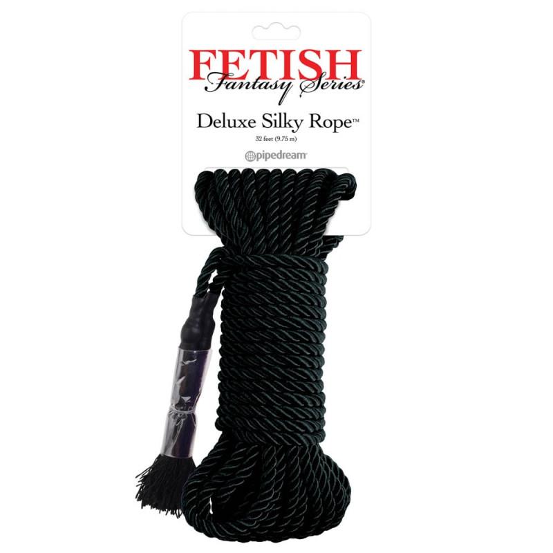 Deluxe Silky Rope black