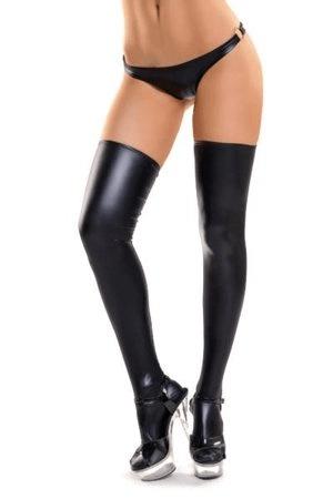 Glossy Wetlook stockings