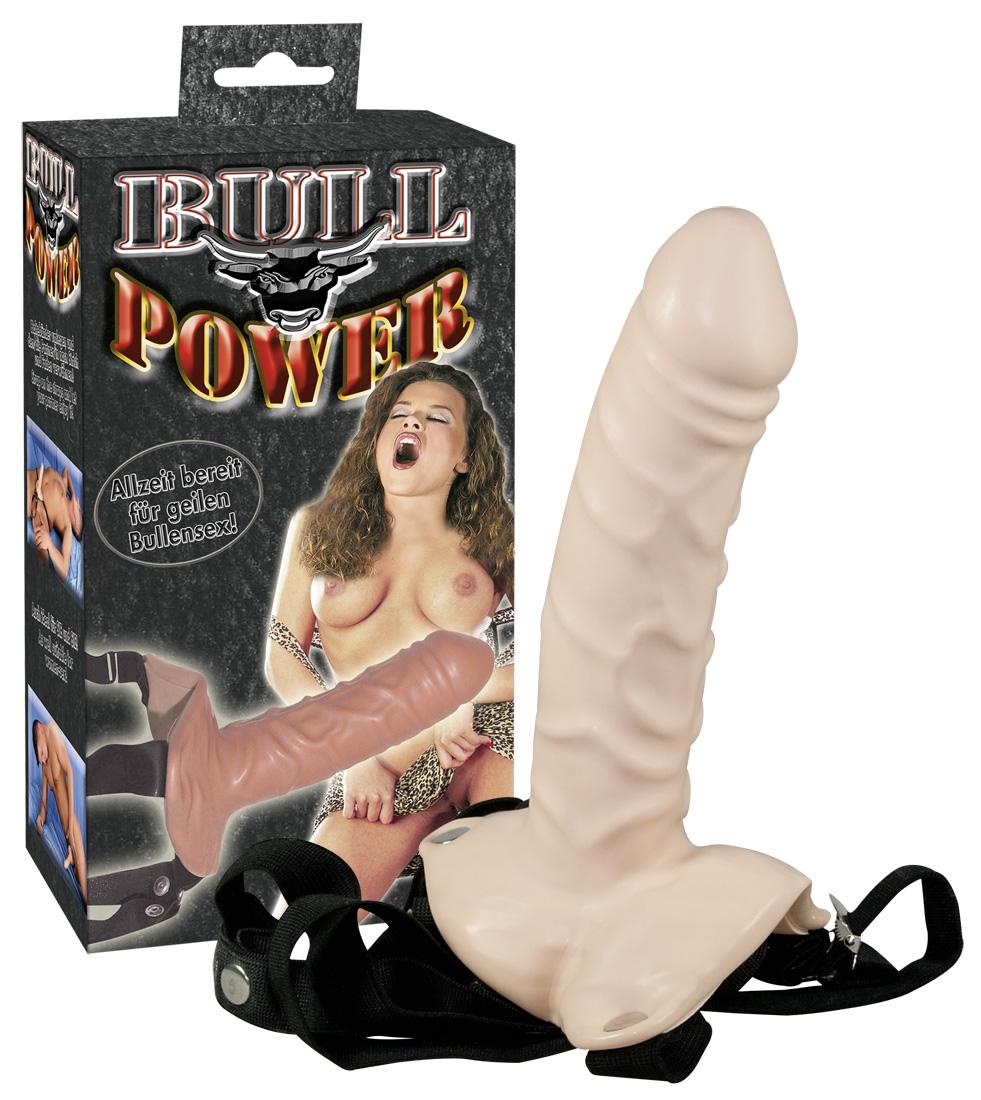 Bull power strap-on